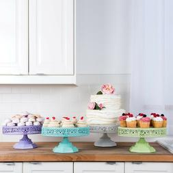 12-Inch CAKE STAND Metal Cupcake Wedding Party Event Display