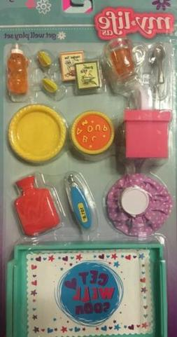 """✨My Life As 18"""" Doll Get Well Sick Play Set Fold Out Food"""