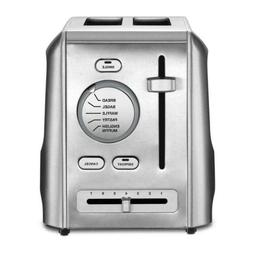2-Slice Stainless Steel Custom Select Toaster with Crumb Tra