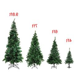 4/6/7/9.8 Feet Tall Christmas Tree W/Stand Holiday Season In