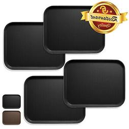 4pc Rectangular Restaurant Serving Tray NSF Certified Non-Sk