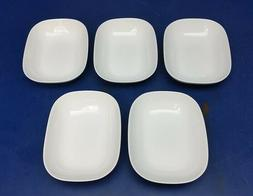 ALESSI Delta Airlines White Rectangular Bowl Dish Tray 0442