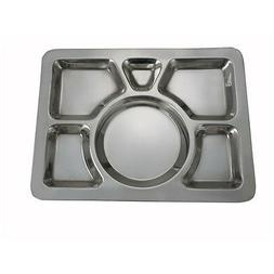 Winco 6-Compartment Mess Tray, Style A