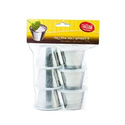 Tablecraft H5069 2.5 oz Dipping Cups with Lids