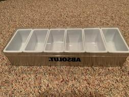Absolut Fruit Tray Brand New In Box Commercial Grade