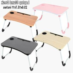 Bed Tray Table with Folding Legs and Drawer , Breakfast, Ser