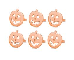 DII Halloween Napkin Rings for Parties Scary Movie Nights Or