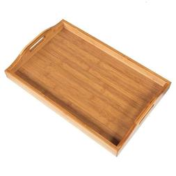 High Grade Wooden Serving Tray with Handles/Serving Tea Brea