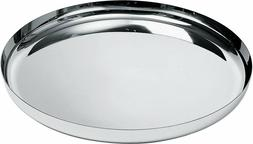 Alessi - JM14/35 L Round Tray Polished Stainless Steel Brand