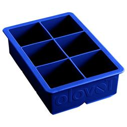 Tovolo 80-5521 King Blue Ice Cube Tray - 6 / BX