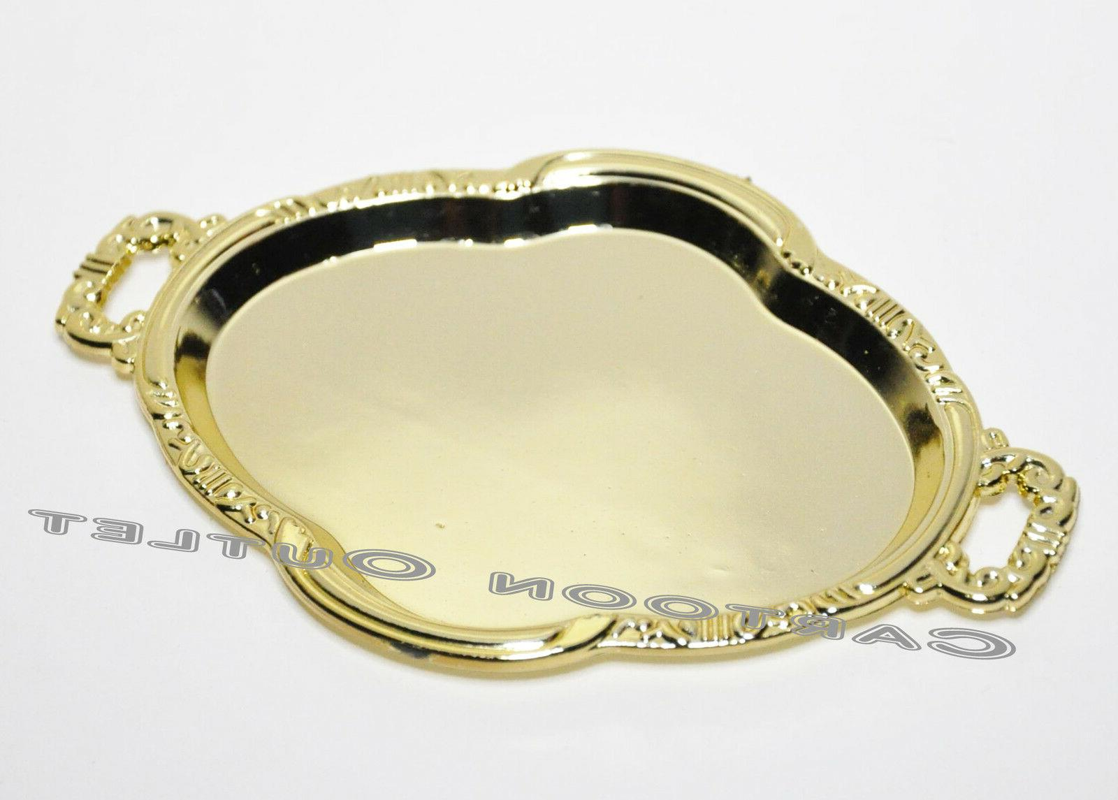 12 QUINCEANERA GOLD TRAYS PARTY