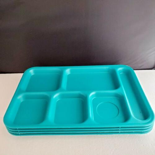4 - 6 Compartment Cafeteria Picnic Lunch