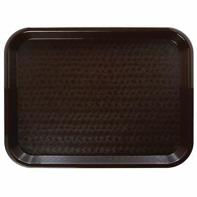 fast food tray cafeteria tray brown polypropylene