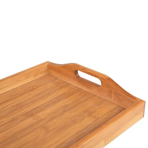Tray with Handles/Serving Breakfast Wood