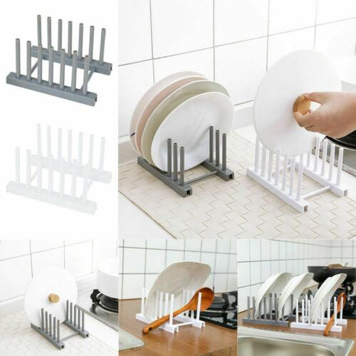 Kitchen Dish Drying Rack Home Drainer Tray