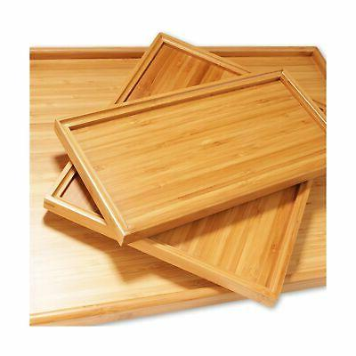 """Organic Tray Rounded Edges - 11""""x5.5""""x0.6"""" - Pieces"""