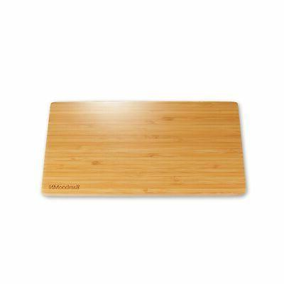 Organic Bamboo Serving Tray Rounded