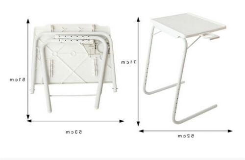 Portable Adjustable Table With