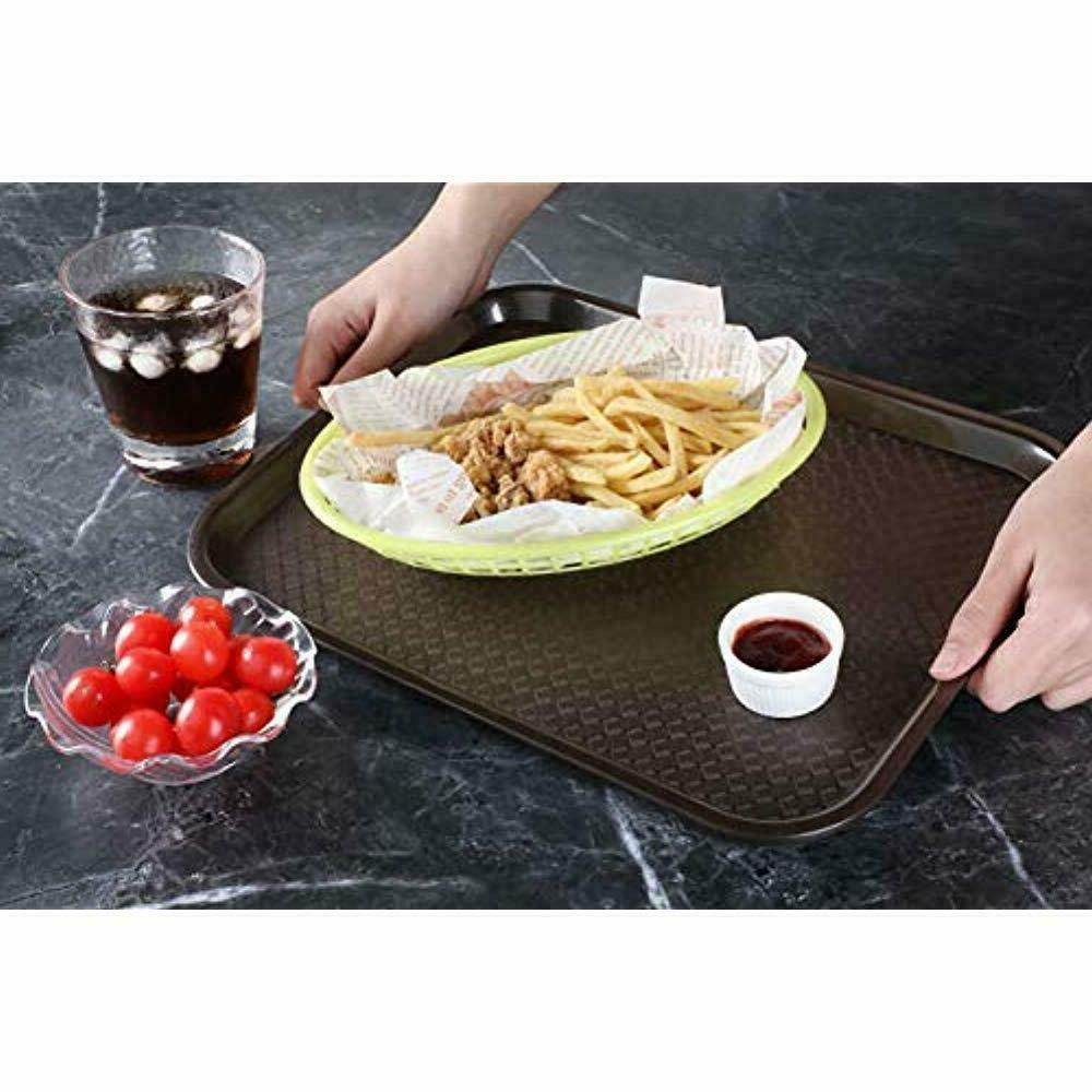Serving Trays Plastic Fast 10 By Of 12