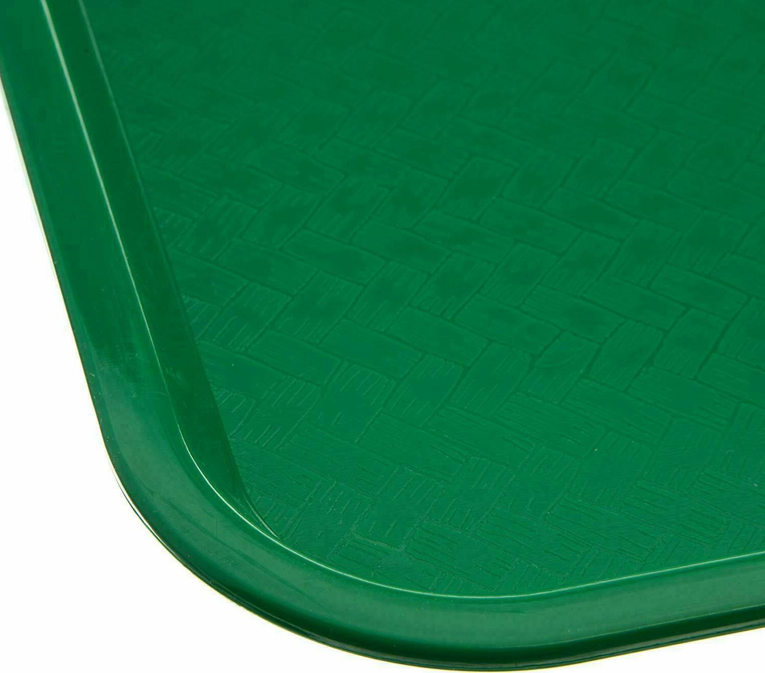 Serving Trays Plastic Fast Tray, 12 By 12