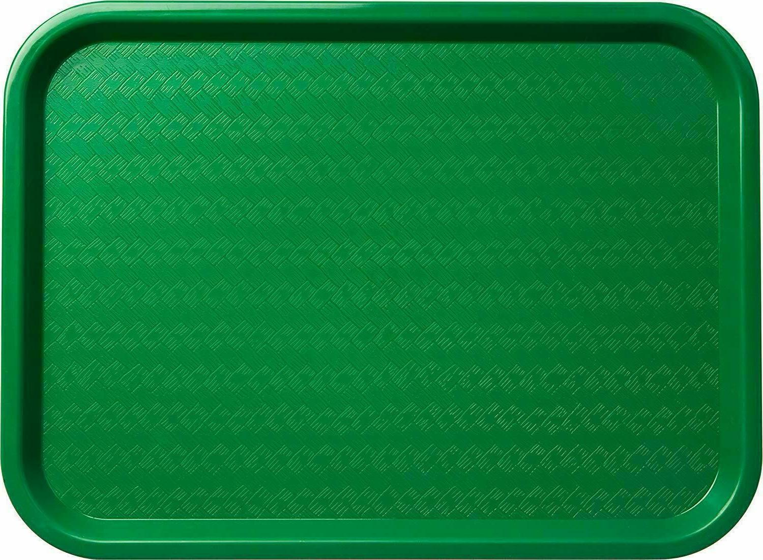 serving trays green plastic fast food tray