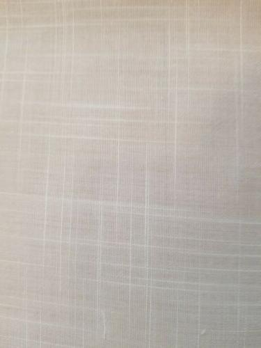 DII White Fabric Floral New