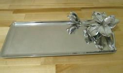 "ARTHUR COURT MAGNOLIA OBLONG TRAY - 17"" x 7""   New in Box -2"