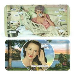 Anne Taintor Melamine Hostess Serving Tray - Mommy