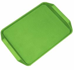 Plastic Serving Tray Non-Slip Rectangular Fast Food Serving