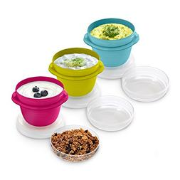 Rubbermaid TakeAlongs On-the-Go 2 Cup 2 pk Food Container Pi