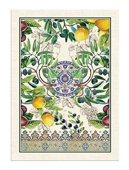 TUSCAN GROVE Cotton Kitchen Towel by  Michel Design Works